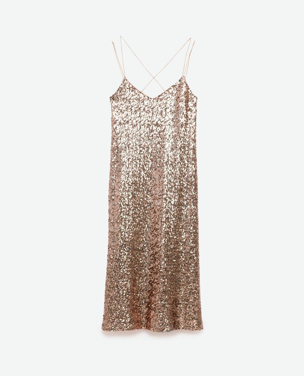 rosa-paljett-klänning-zara