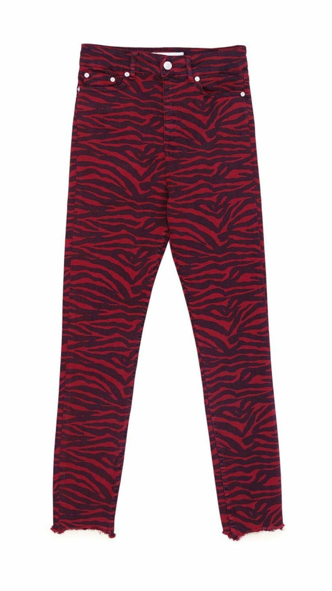 jeans-zebra-röda-zara