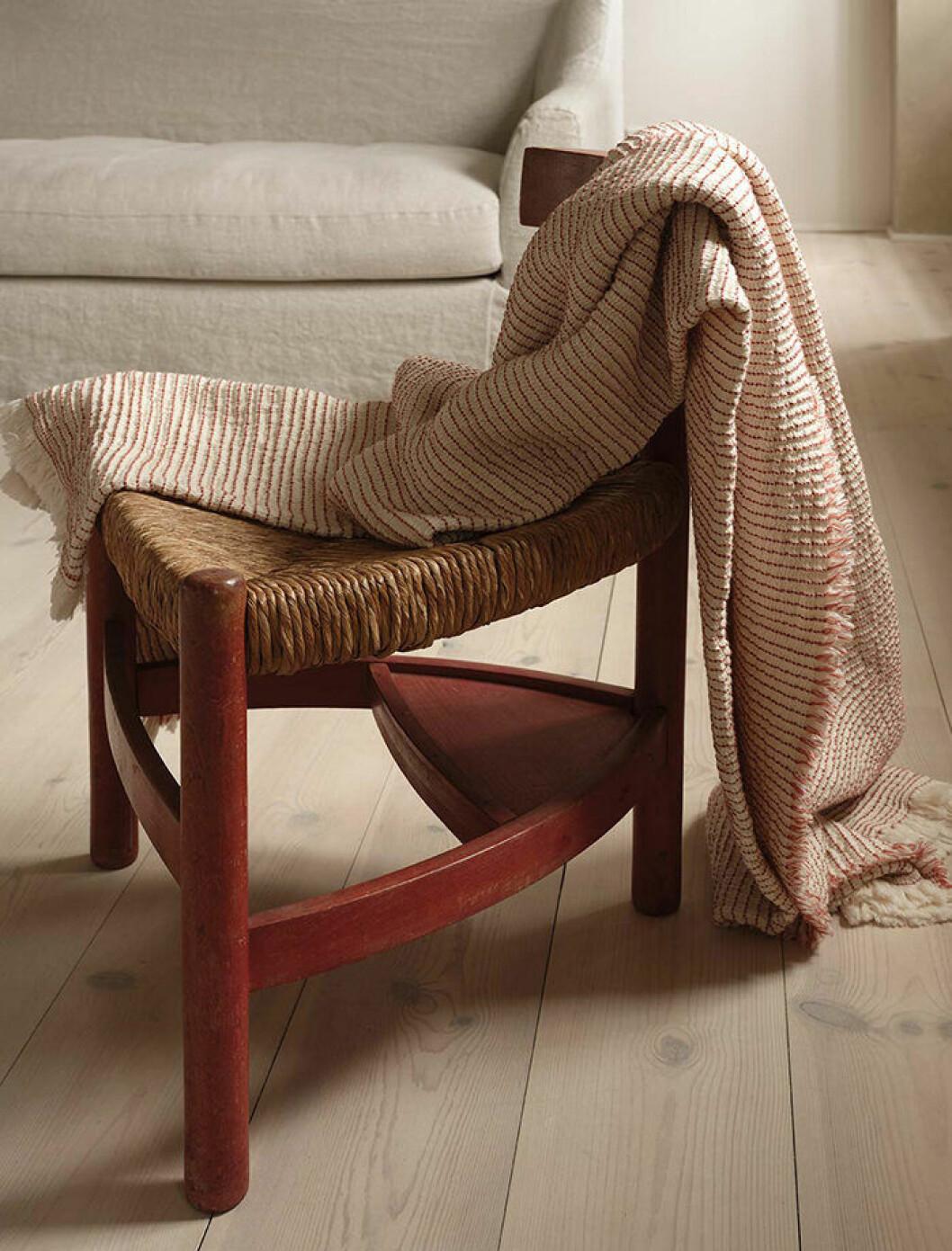 Pläd från Zara Homes höstkollektion 2019