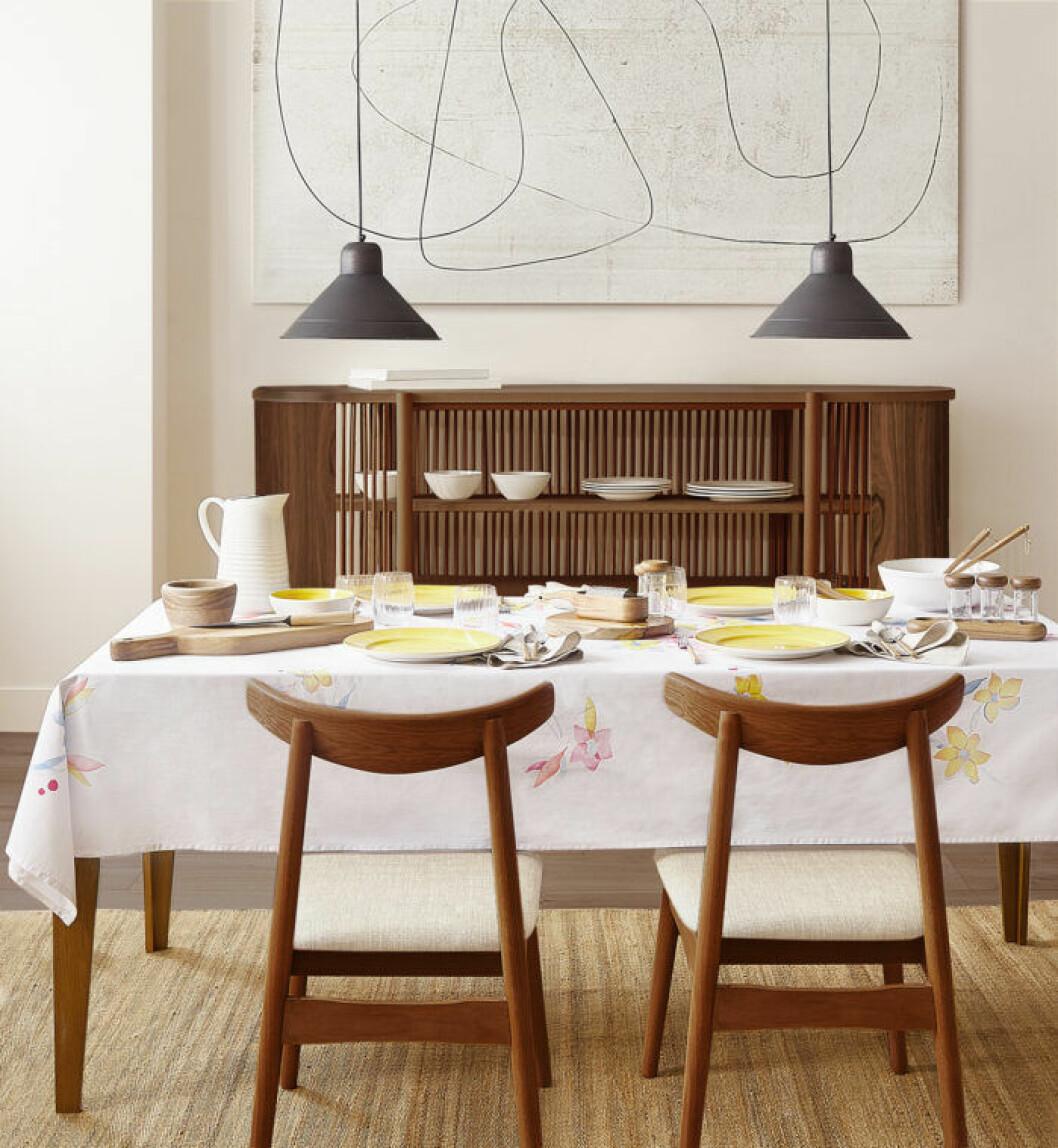 Enkel elegans i köket hos Zara home till hösten