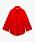 Röd skjorta med strukutr. Oversizad med långa vida ärmar. Skjorta från Zara.