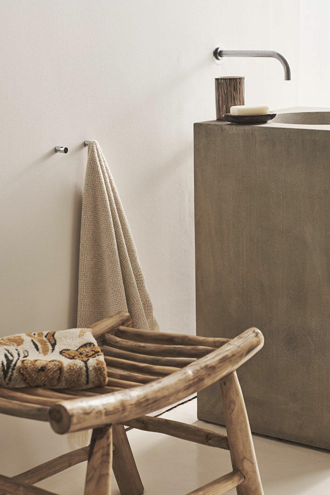 Detaljer till badrummet från Zara Home