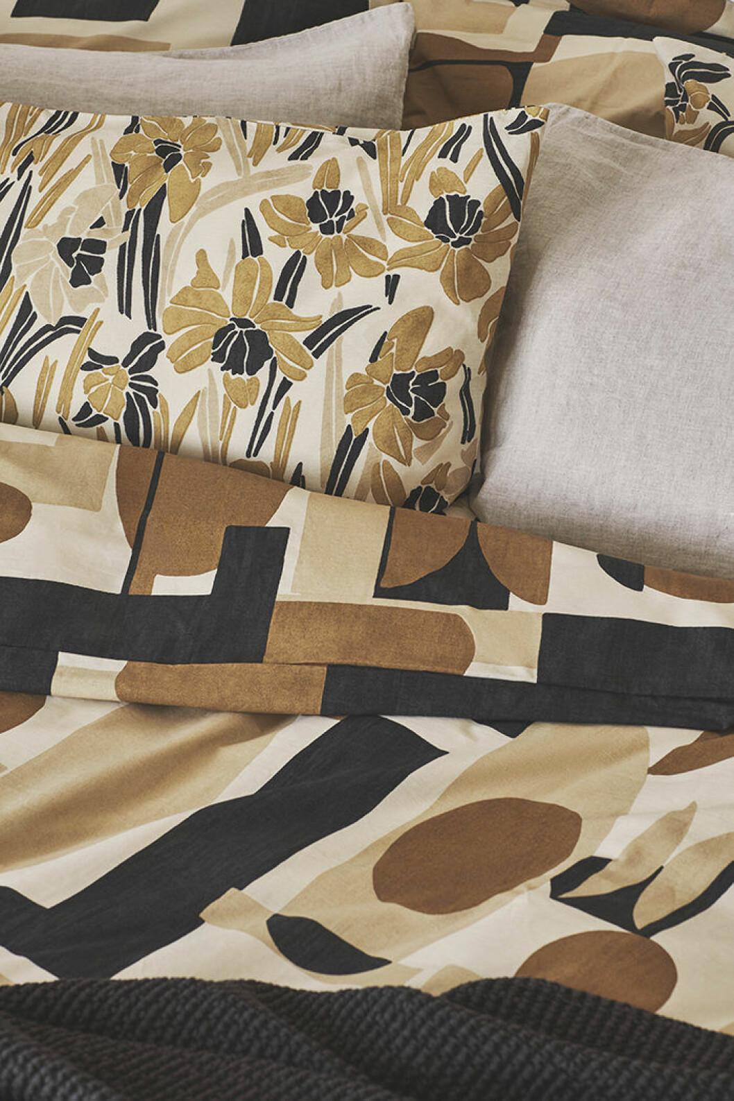 Mönstrade textilier i Zara Homes höstkollektion