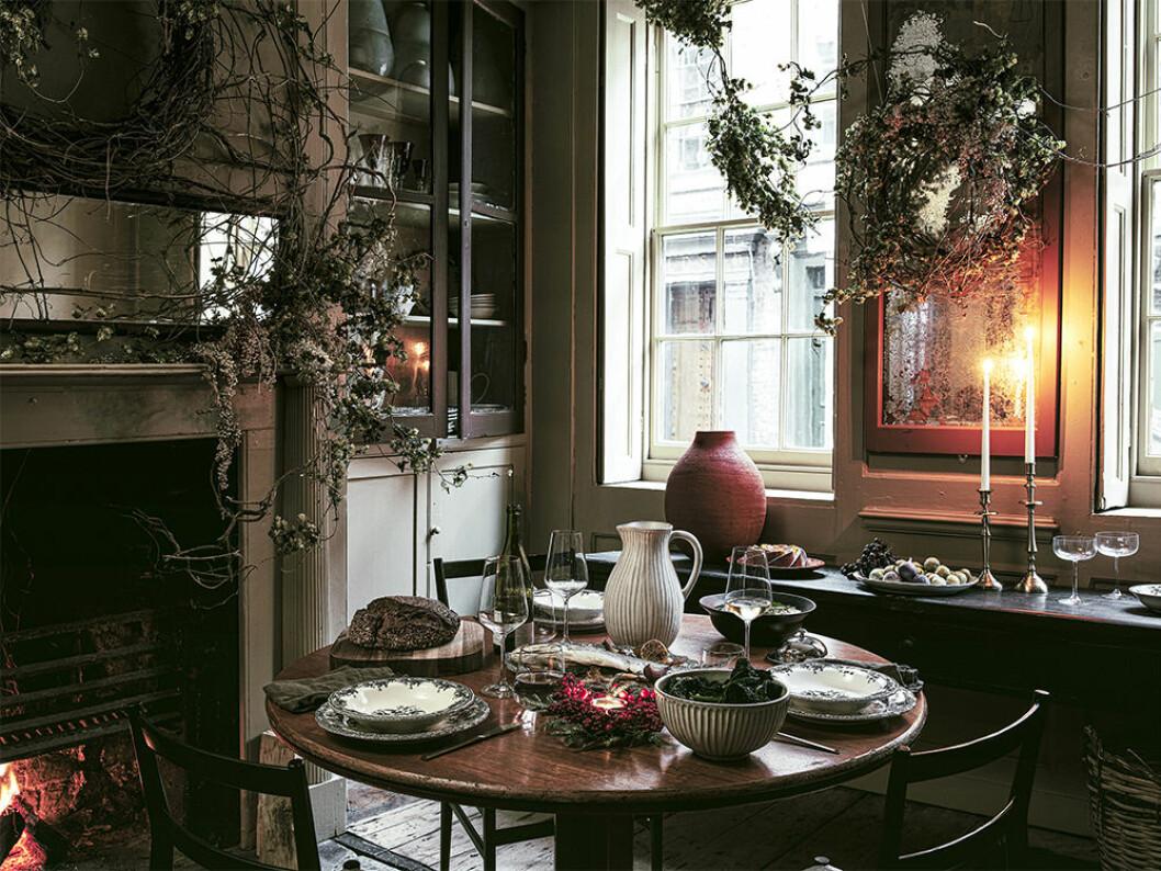 Juldukat bord hos Zara Home 2019