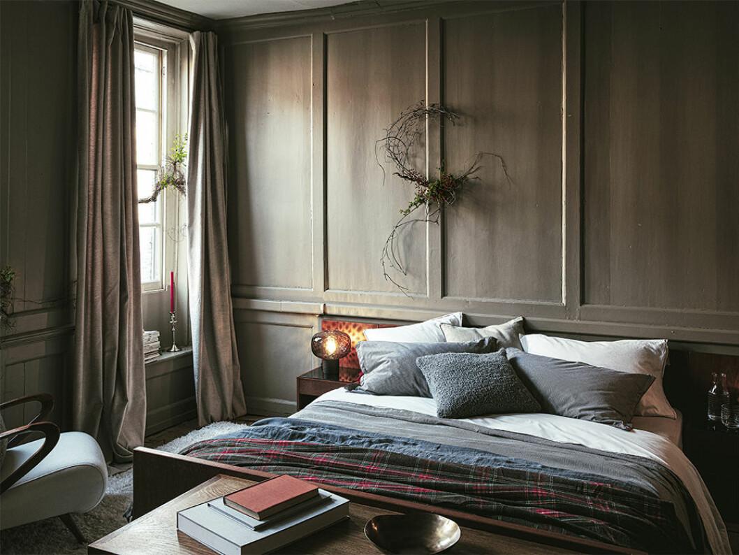 Rofyllt sovrum till jul – på Zara Home