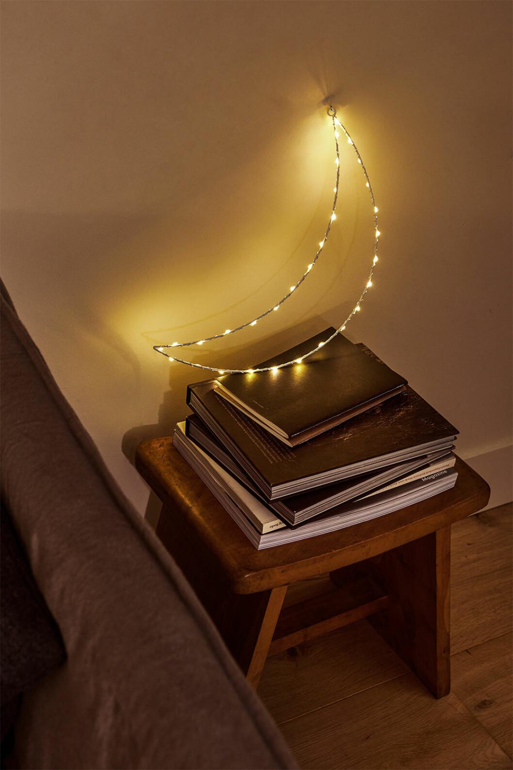Månformad lampa från Zara Home