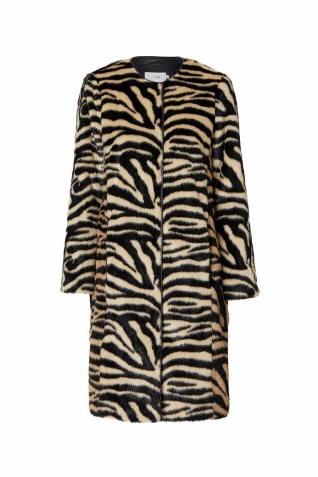 Kappa med zebramönster