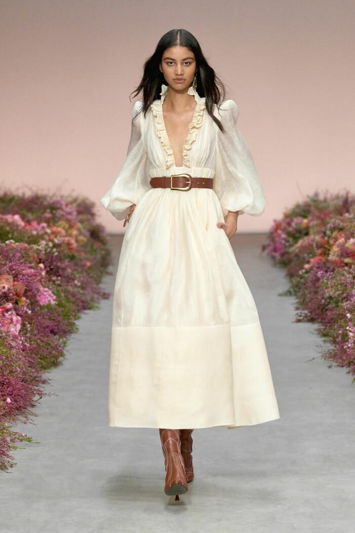 Zimmermann ss 21 vit klänning